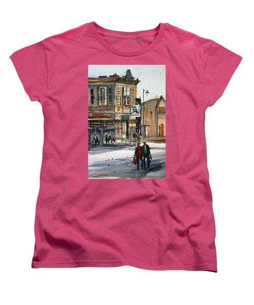 Neshkoro Tavern Women's T-Shirt (Standard Cut) by Ryan Radke