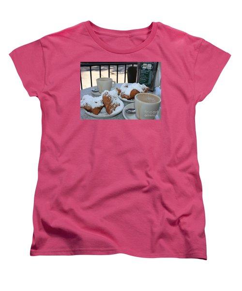 New Orleans Breakfast Women's T-Shirt (Standard Cut)