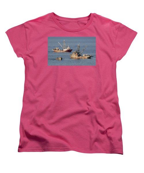 Night Train Women's T-Shirt (Standard Cut) by Randy Hall