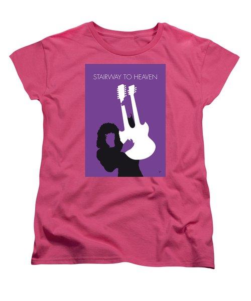 No011 My Led Zeppelin Minimal Music Poster Women's T-Shirt (Standard Cut) by Chungkong Art