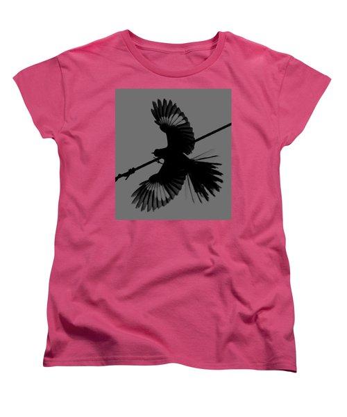 Women's T-Shirt (Standard Cut) featuring the photograph Northern Mockingbird by Leticia Latocki