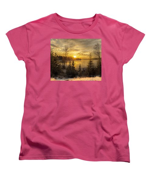 Norway Hedmark Women's T-Shirt (Standard Cut) by Rose-Maries Pictures
