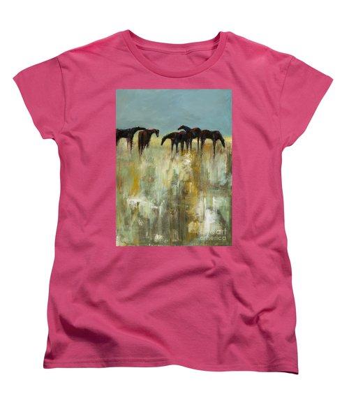 Not A Cloud In The Sky Women's T-Shirt (Standard Cut) by Frances Marino
