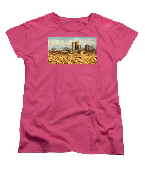 November Winds Women's T-Shirt (Standard Cut) by Doug Kreuger