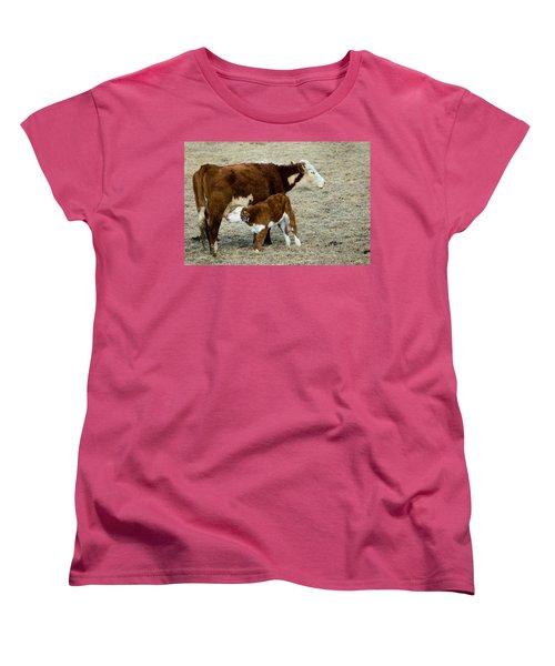 Nursing Calf Women's T-Shirt (Standard Cut)