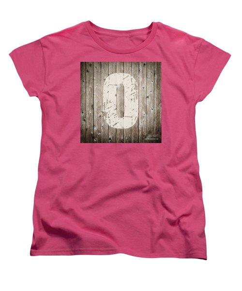 O Women's T-Shirt (Standard Cut) by Andrea Anderegg