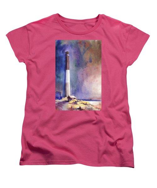 Oak Island Lighthouse Women's T-Shirt (Standard Cut)