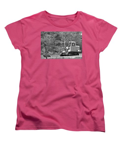 Old Backhoe Women's T-Shirt (Standard Cut) by Tara Potts