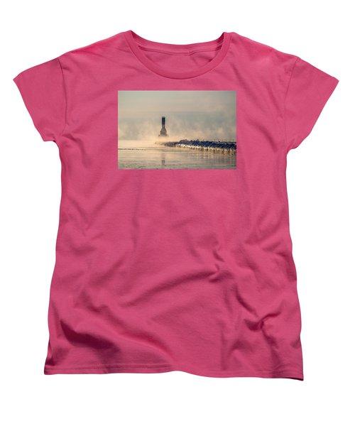 Old Faithful Women's T-Shirt (Standard Cut) by James  Meyer