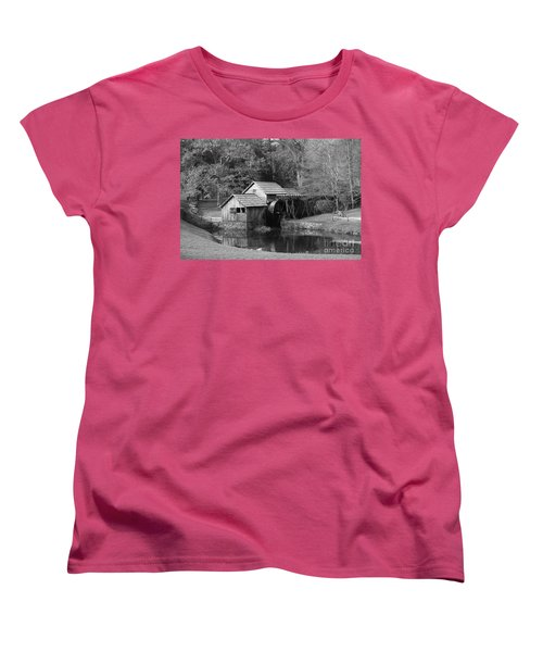 Virginia's Old Mill Women's T-Shirt (Standard Cut) by Eric Liller