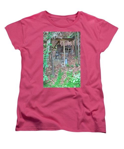 Old Mountain Still Women's T-Shirt (Standard Cut)