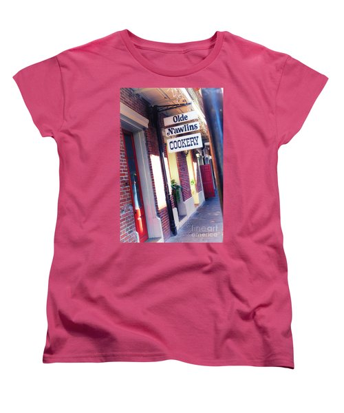 Women's T-Shirt (Standard Cut) featuring the photograph Old Nawlins by Erika Weber