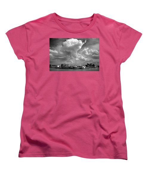 Women's T-Shirt (Standard Cut) featuring the photograph Old Ships by Bernardo Galmarini