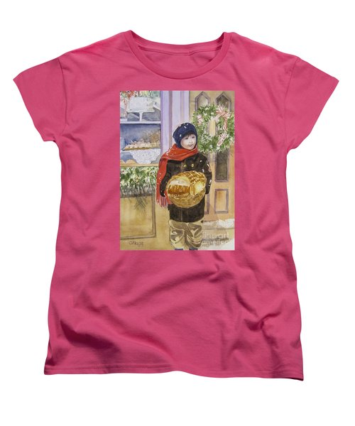 Old Time Christmas Women's T-Shirt (Standard Cut)