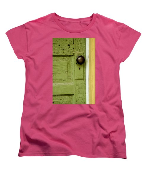 Olive Door Women's T-Shirt (Standard Cut)