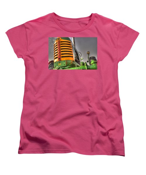 Oliver Tractor Women's T-Shirt (Standard Cut) by Michael Eingle