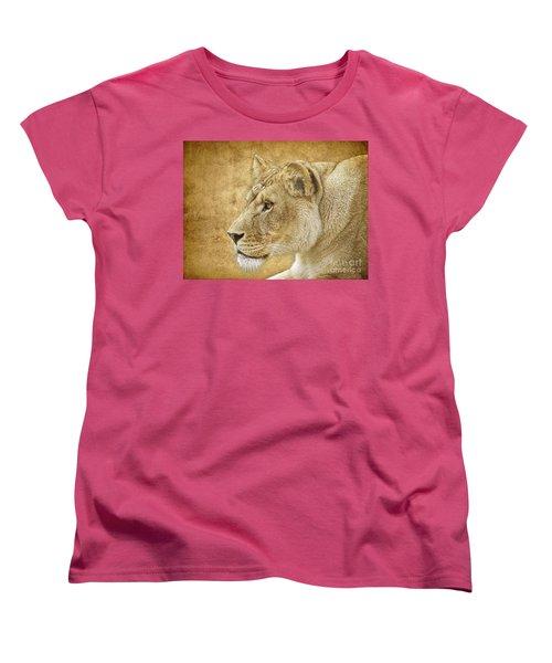 On Target Women's T-Shirt (Standard Cut) by Steve McKinzie