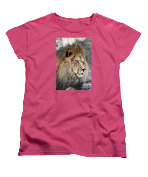 Women's T-Shirt (Standard Cut) featuring the photograph Onyo #13 by Judy Whitton