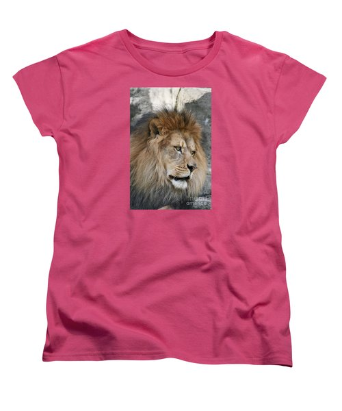 Women's T-Shirt (Standard Cut) featuring the photograph Onyo #4 by Judy Whitton