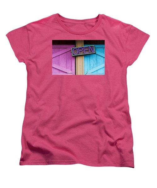 Open Women's T-Shirt (Standard Cut)