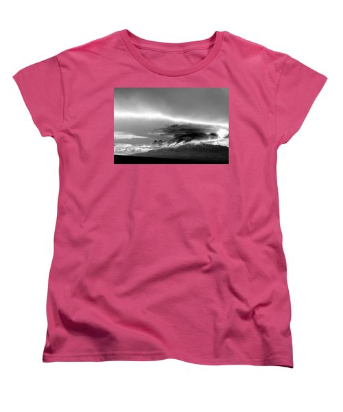 Women's T-Shirt (Standard Cut) featuring the photograph Oquirrh Range Utah by Ron White
