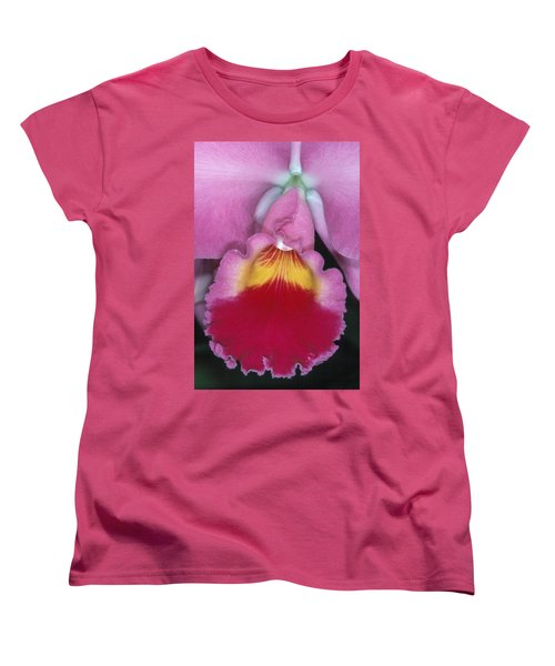 Orchid 8 Women's T-Shirt (Standard Cut) by Andy Shomock