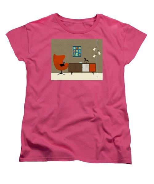 Orla Kiely Cabinet Women's T-Shirt (Standard Cut)