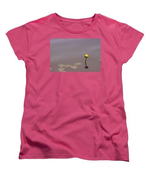 Women's T-Shirt (Standard Cut) featuring the photograph Osaka Garden Tranquility by Miguel Winterpacht