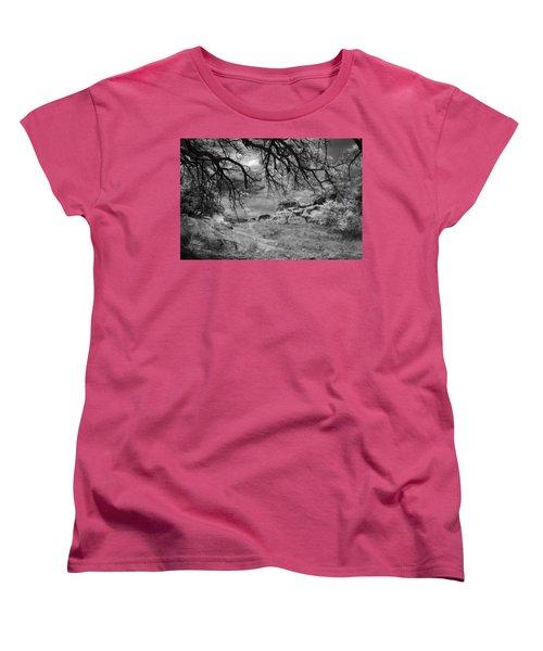 Overhanging Branches Women's T-Shirt (Standard Cut) by Michael McGowan