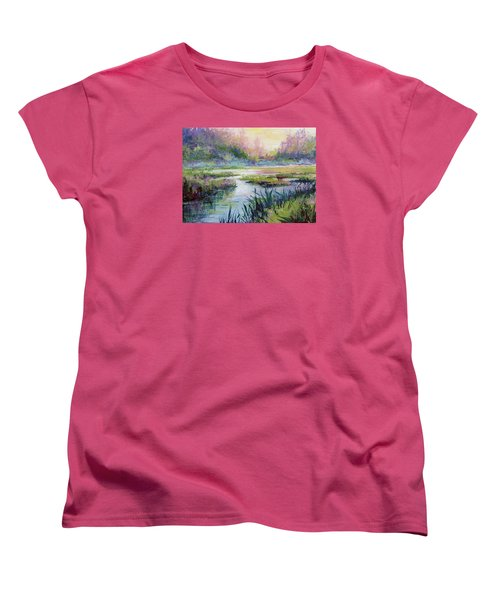 Palmer Hayflats Women's T-Shirt (Standard Cut) by Karen Mattson