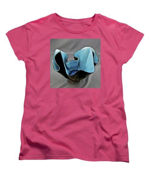 Paper-thin Bowl  09-003 Women's T-Shirt (Standard Cut) by Mario Perron