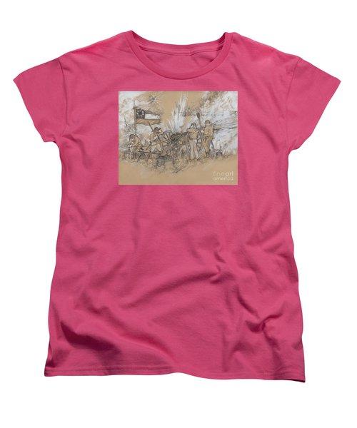 Parrott Answer Women's T-Shirt (Standard Cut) by Scott and Dixie Wiley