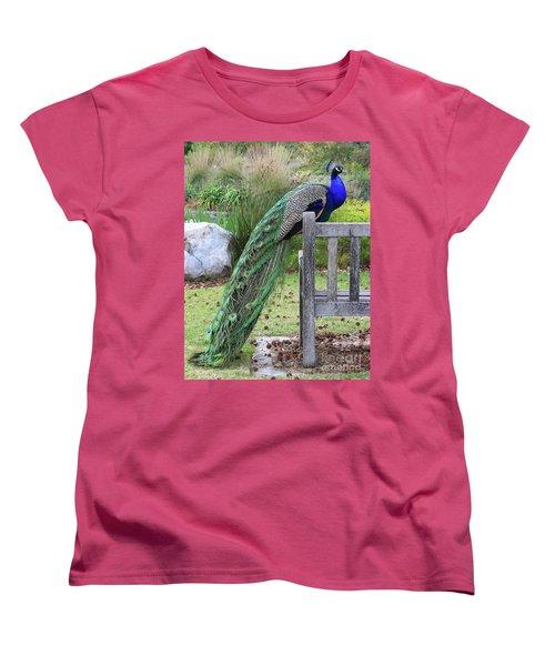 Peacock Women's T-Shirt (Standard Cut)