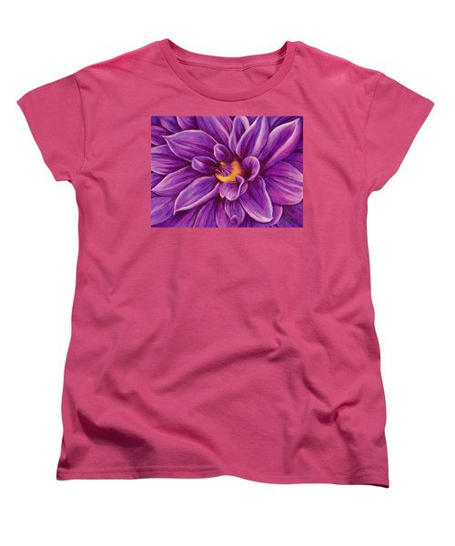 Pencil Dahlia Women's T-Shirt (Standard Cut)