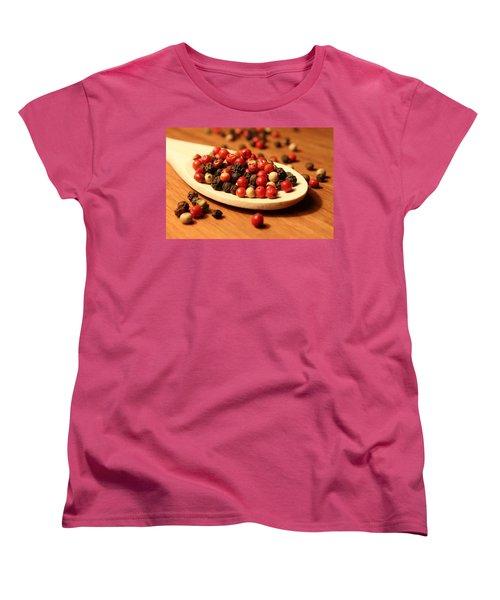 Peppercorns Women's T-Shirt (Standard Cut) by Joseph Skompski