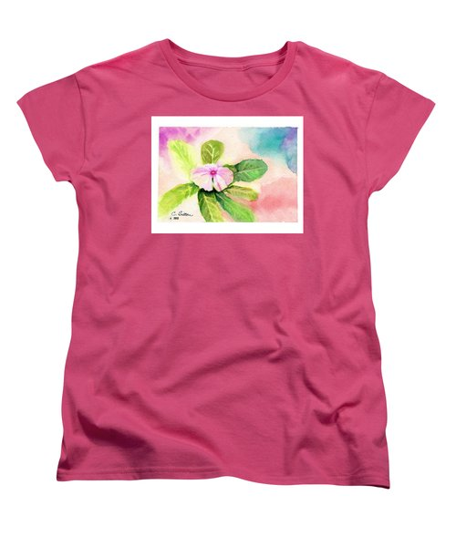 Periwinkle Women's T-Shirt (Standard Cut) by C Sitton