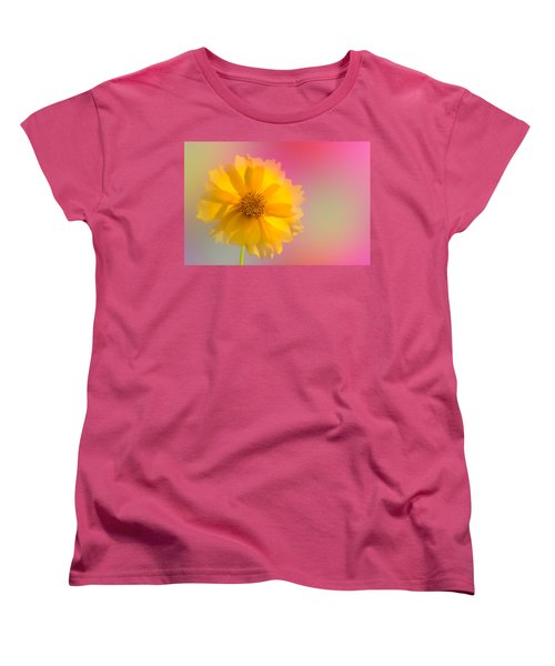 Petals Of Sunshine Women's T-Shirt (Standard Cut) by Fred Larson