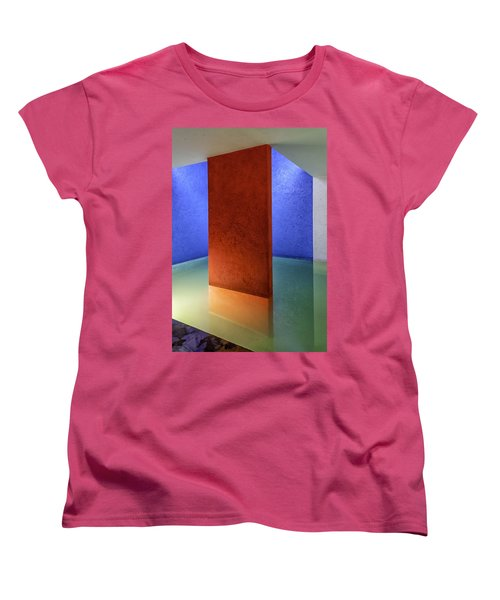 Physical Abstraction Women's T-Shirt (Standard Cut) by Lynn Palmer