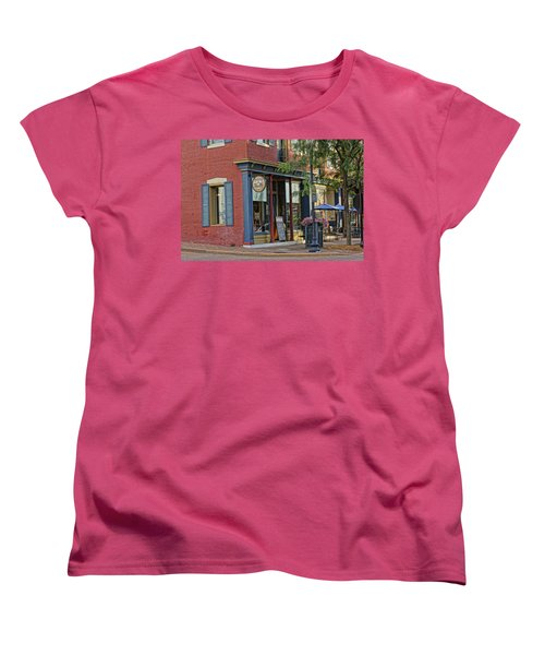 Picasso's N Main St Charles Mo Dsc00900  Women's T-Shirt (Standard Cut) by Greg Kluempers