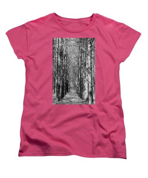 Pine Plantation Women's T-Shirt (Standard Cut) by Betty Northcutt