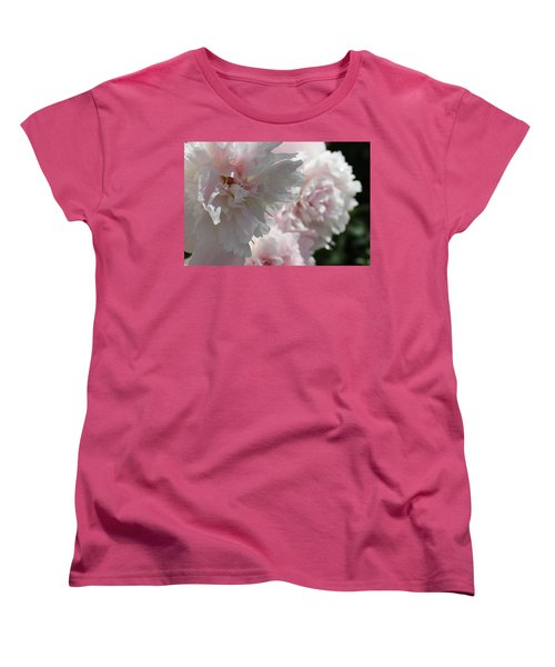 Pink Confection Women's T-Shirt (Standard Cut) by Ruth Kamenev