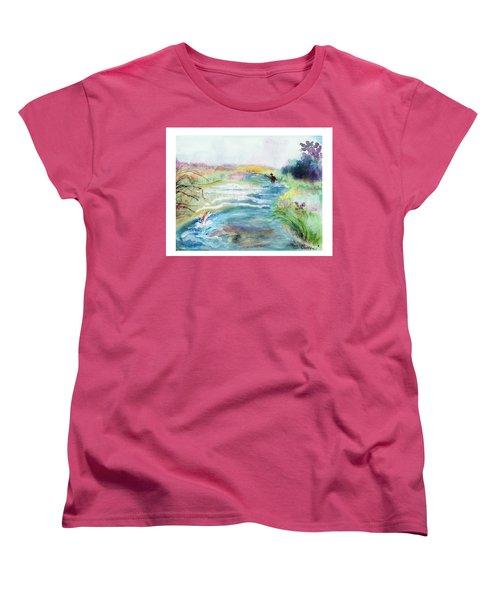 Playin' Hooky Women's T-Shirt (Standard Cut) by C Sitton