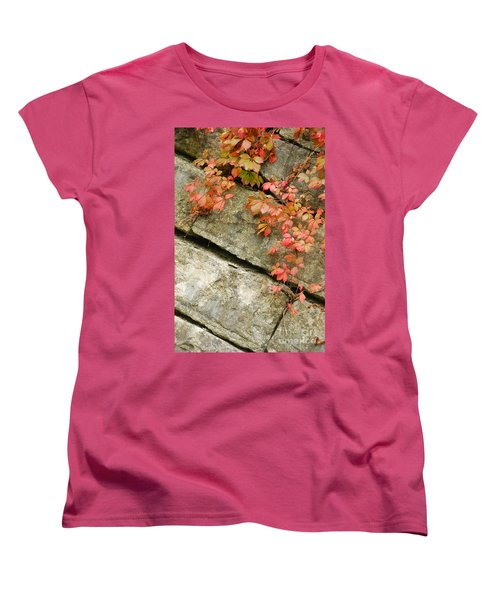 Women's T-Shirt (Standard Cut) featuring the photograph Poison Ivy by Mary Carol Story