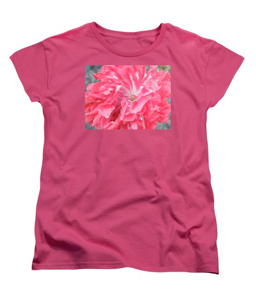 Popping Pink Women's T-Shirt (Standard Cut) by Brian Boyle