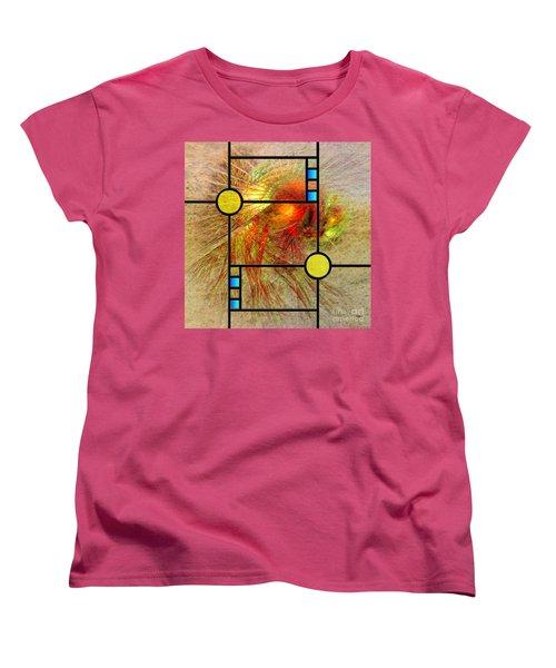 Prairie View - Square Version Women's T-Shirt (Standard Cut) by John Robert Beck