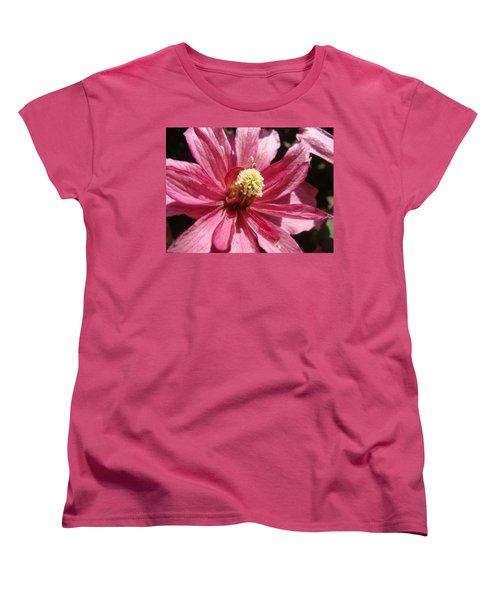Pretty In Pink Women's T-Shirt (Standard Cut) by Cheryl Hoyle