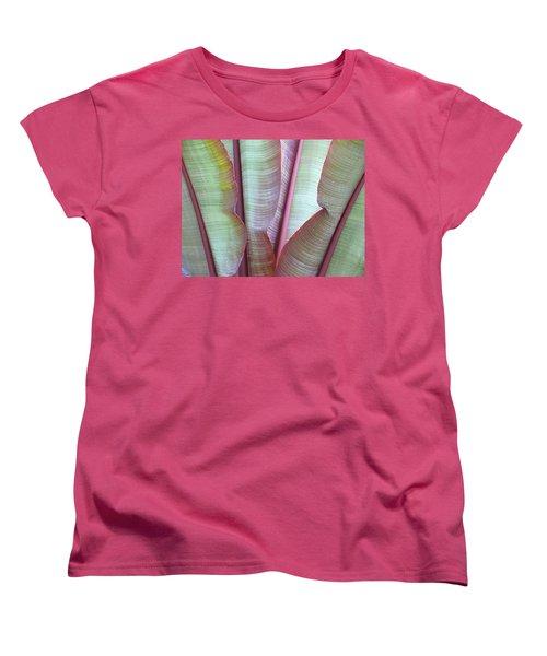 Purple Banana Women's T-Shirt (Standard Cut) by Evelyn Tambour