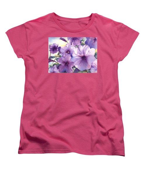 Purple Profusion Women's T-Shirt (Standard Cut)