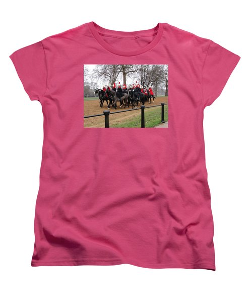 Women's T-Shirt (Standard Cut) featuring the photograph Queen's Guard by Tiffany Erdman