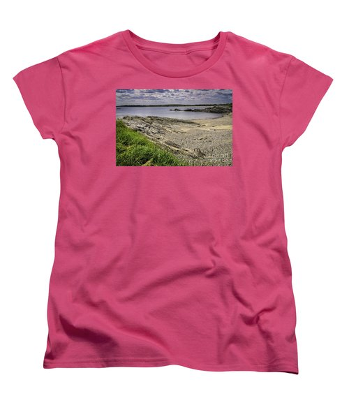 Women's T-Shirt (Standard Cut) featuring the photograph Quiet Cove by Mark Myhaver